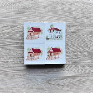 สื่อการเรียนการสอน-T02-03 เกมภาพต่อปลายโดมิโน ภาพบ้าน (16 ชิ้น)-4