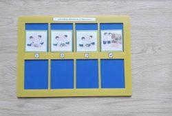 สื่อการเรียนการสอน -T03-03 เกมเรียงลำดับเหตุการณ์ เด็กเล่นของเล่น.การรับประทานอาหาร