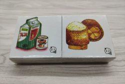เกมการศึกษาปฐมวัย - เกมภาพชุดอาหาร 18 ชิ้น (T06 02 )