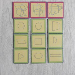 สื่อการเรียนการสอน -T14-07 เกมจัดหมวดหมู่ภาพซ้อนรูปเรขาคณิต