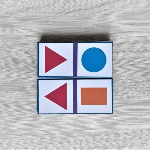สื่อการเรียนการสอน -T14-04 เกมโดมิโน รูปเรขาคณิต