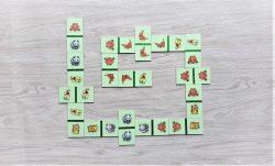 สื่อการเรียนการสอน -T05-15 เกมโดมิโน ภาพสัตว์ 25 ชิ้น