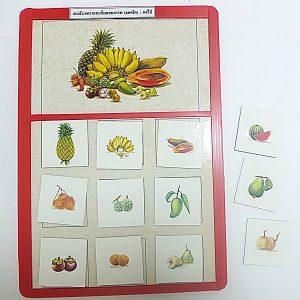 T04-07 เกมสังเกตรายละเอียดของภาพผลไม้