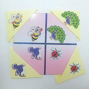 T05-03 เกมสี่เหลี่ยมวิเศษภาพเหมือนสัตว์