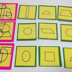 T14-07 เกมจัดหมวดหมู่ภาพซ้อนรูปเรขาคณิต