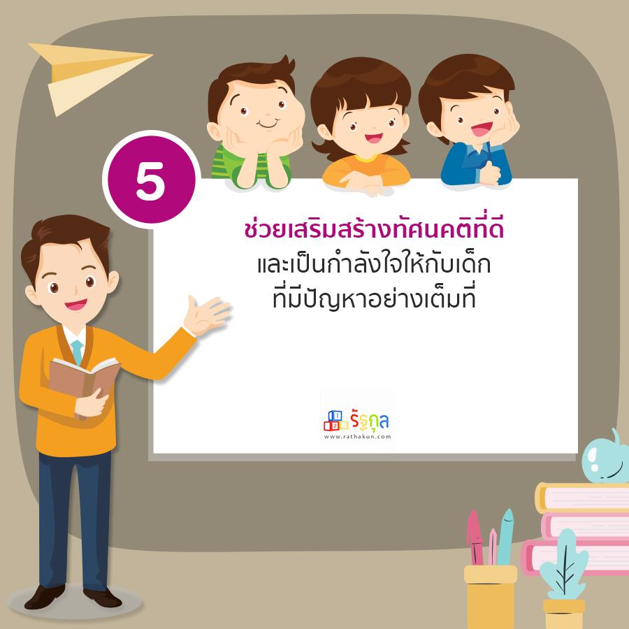 เทคนิคที่ 5 การรับมือกับพฤติกรรมเด็กปฐมวัย